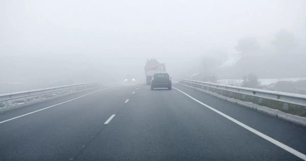 вождение в тумане