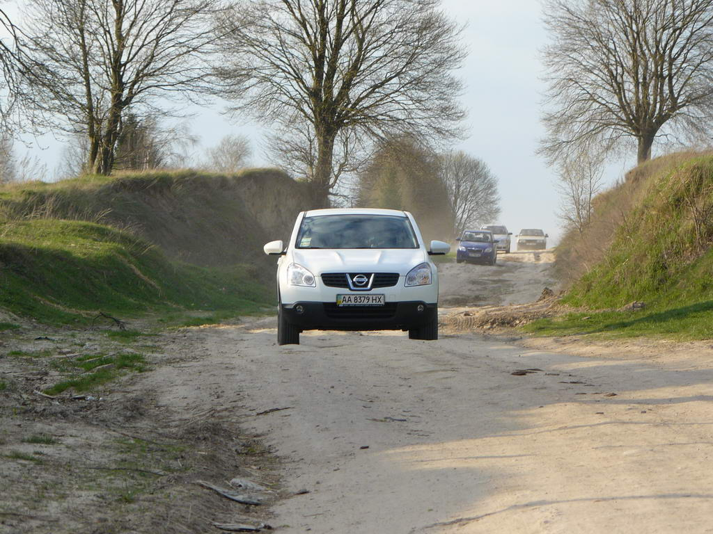 вождение по грунтовым дорогам